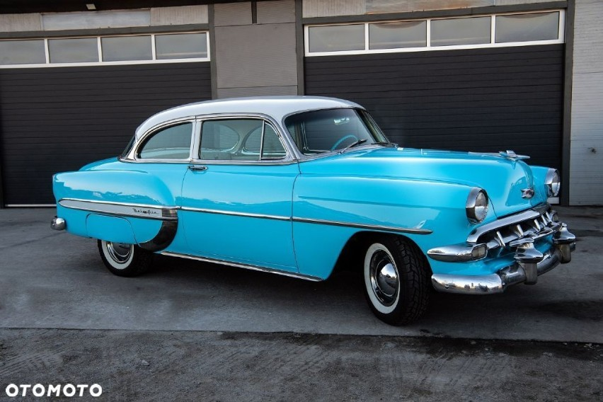 Chevrolet Bel Air 1954 9 674 km Benzyna Coupe Cena: 179...