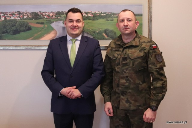 Rozmawiali o szczegółach powrotu Łomży na wojskową mapę Polski