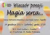 Bialskie Centrum Kultury zaprasza na wieczór poezji