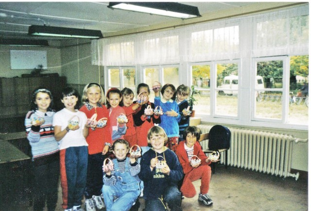 Szkoła Podstawowa w Złoczewie w latach 90