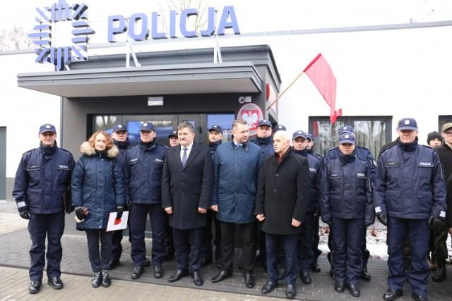 Nowy posterunek policji w Siedliszczu