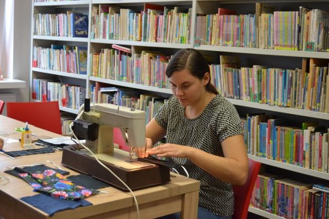 Weronika Sieradzka od sześciu lat pracuje w Ośrodku Kultury i Bibliotece gminy Wielgie.