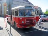 Kalisz: Zabytkowy San znów woził pasażerów po ulicach miasta. ZOBACZ ZDJĘCIA