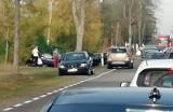 Ploski: Wypadek na DK 19. Zderzyły się trzy samochody, trzy osoby zostały ranne