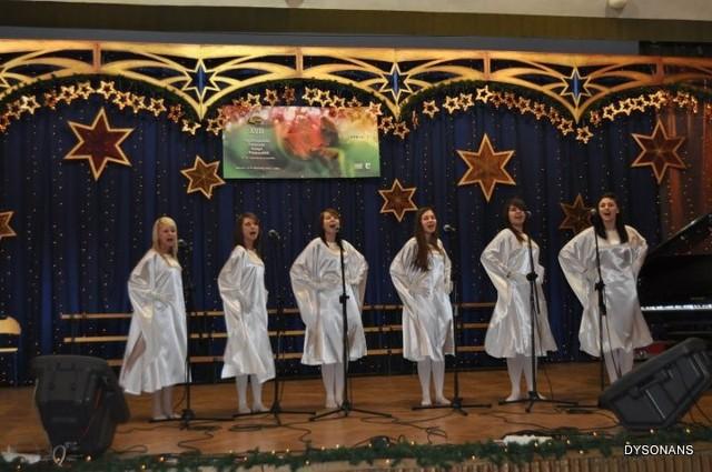 Zespół wokalny DYSONANS LL Stowarzyszenie Kultury Dzieci i Młodzieży w Krośnie 07.01.2010 - II dzień Festiwalu