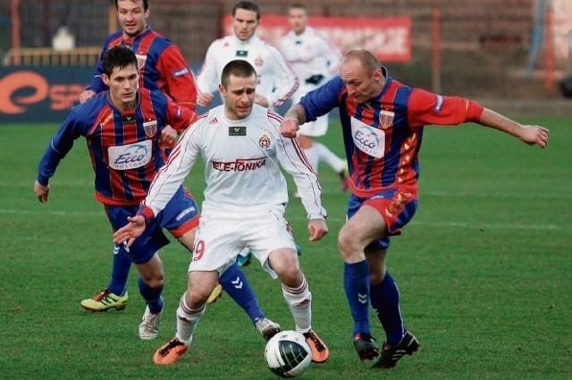 Piłkarze z Bytomia mają nadzieję na lepsze czasy swego klubu