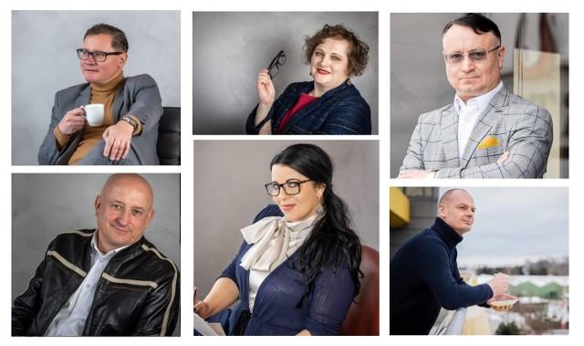 W Lubuskim S3 są: u góry od lewej - Robert Bagiński, Marta Kowalska, Tomasz Możejko, u dołu - Jacek Bachalski, Katarzyna Miczał, Grzegorz Witkowski