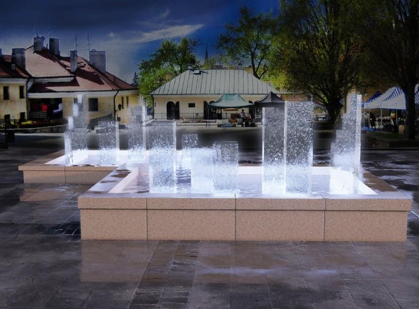 Modernizacja fontanny na Małym Rynku w Sandomierzu,...