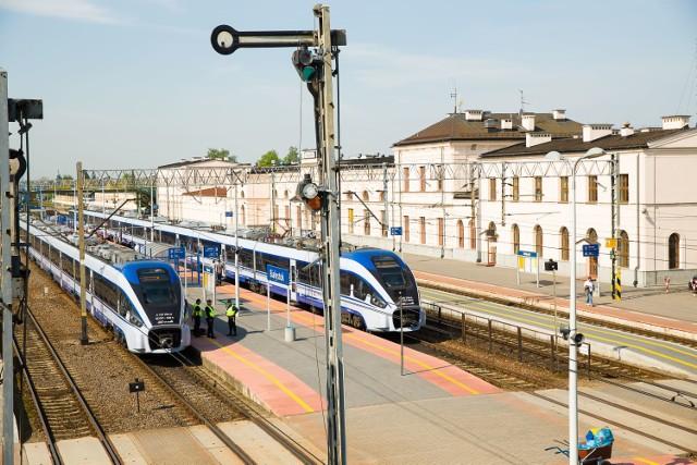 Zmiana rozkładu jazdy pociągów POLREGIO na Podlasiu 12 marca 2017 r.