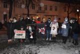 Strajk Kobiet w Wieluniu. Mieszkańcy znów wyszli na ulice po publikacji wyroku w sprawie aborcji