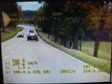 Policyjne BMW ujęło pirata drogowego z Koszalina. Mknął 186 km/h