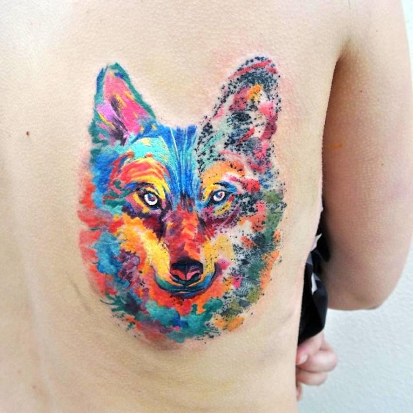 Czech Tworzy Tatuaże Niczym Kolorowe Obrazy Zdjęcia