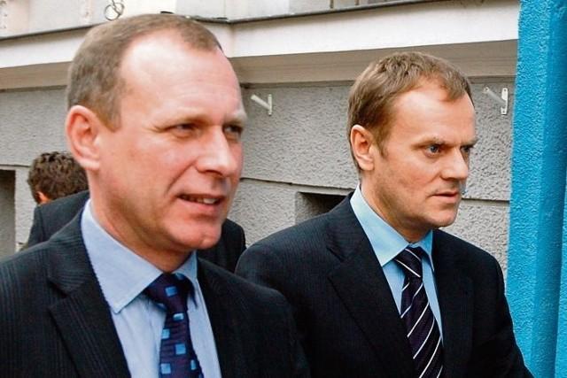 W wyborach do zarządu PO Waldy Dzikowski może liczyć na wsparcie premiera Tuska