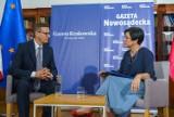 Nowy Sącz/Sądecczyzna. Rozmowa z premierem Mateuszem Morawieckim