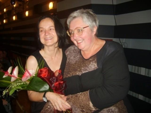 Urszula Rojek (z prawej) w towarzystwie swojej wychowanki Anny Augustynowicz