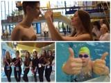"""Integracyjne zawody """"Pływanie na start"""" w Białymstoku wraz z kandydatkami Miss Studentek 2019 [zdjęcia]"""