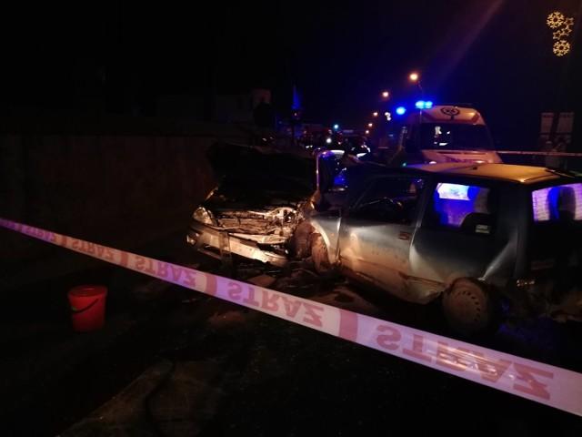 Do wypadku doszło na ulicy Kościelnej w Wysokiej