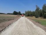 Gmina Chocz. Trwa budowa drogi gminnej w Brudzewku