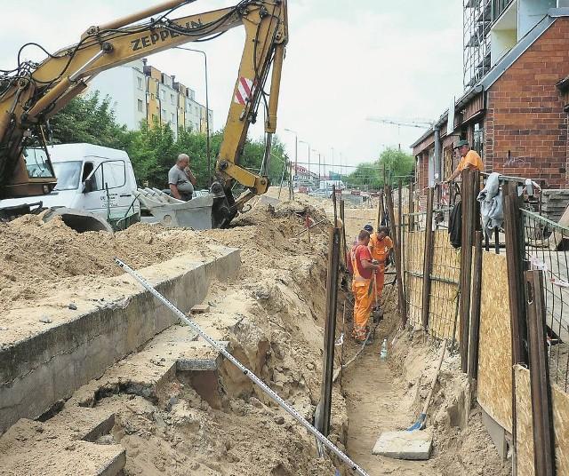 Latem ubiegłego roku modernizację sieci ciepłowniczej przeprowadzono m.in. na osiedlu Przytorze
