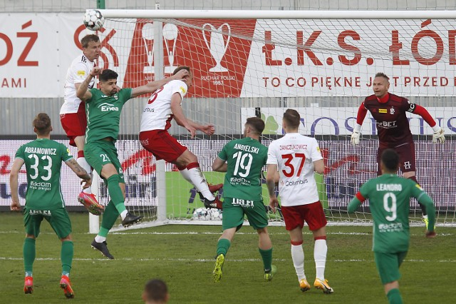 ŁKS Łódź gra z GKS Jastrzębie