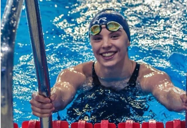 Kolejne sukcesy młodej pływaczki