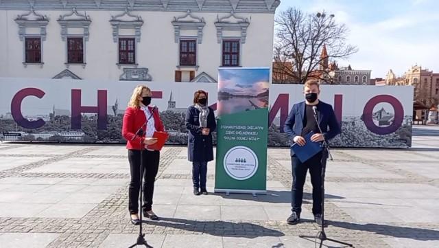 """Prezesem Stowarzyszenia Inicjatyw Ziemi Chełmińskiej """"Dolina Dolnej Wisły"""" jest Aleksander Peszka z Kolna"""