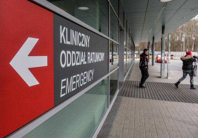 Kliniczny Oddział Ratunkowy UCK w Gdańsku został zamknięty