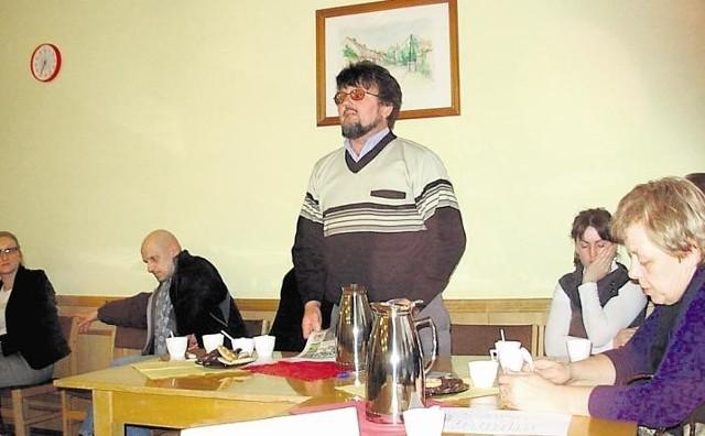 Józef Polichoński wiele razy stawał w obronie targu, również na sesjach Rady Miasta