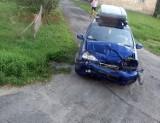 Wypadek w Kierzkowicach. Cztery osoby trafiły do szpitala (ZDJĘCIA)