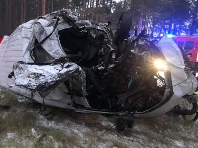 Wypadek na niestrzeżonym przejeździe we Wrzącej