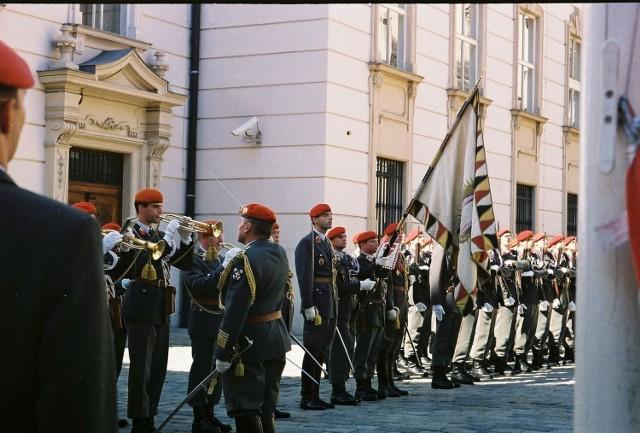 Wiedeń zaprosił polską delegację wojskową, aby razem obchodzić rocznicę zwycięstwa nad  armia turecką. Fot. C.Markiewicz
