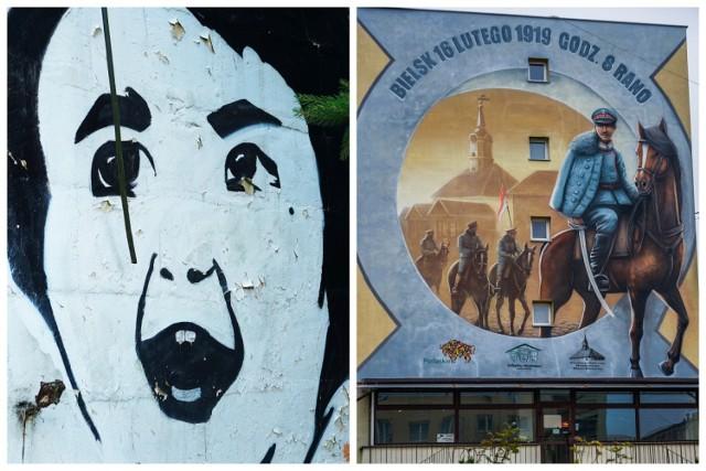 Murale w Bielsku Podlaskim widoczne są niemal na każdym kroku. Są ozdobą wielu dzielnic i szarych elewacji bloków. Oto najpiękniejsze z nich.