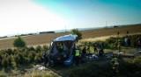 Wypadek autobusu na A1 pod Tczewem 15.08.2020. Autokar przewoził dzieci ze Śląska. 31 osób poszkodowanych. 6 osób ciężko rannych [zdjęcia]