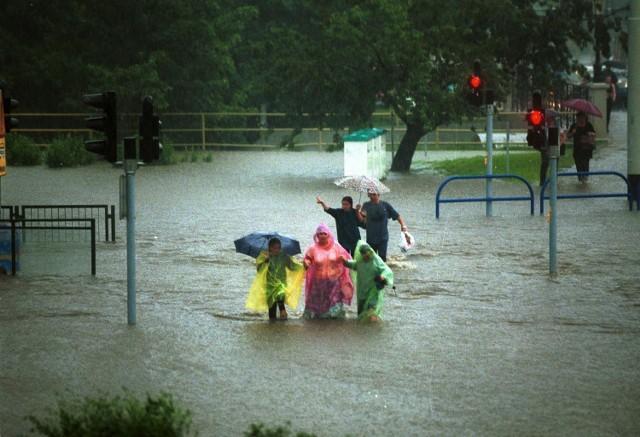 Wielka powódź w Gdańsku. 9 lipca 2001 r. nawałnica zalała miasto