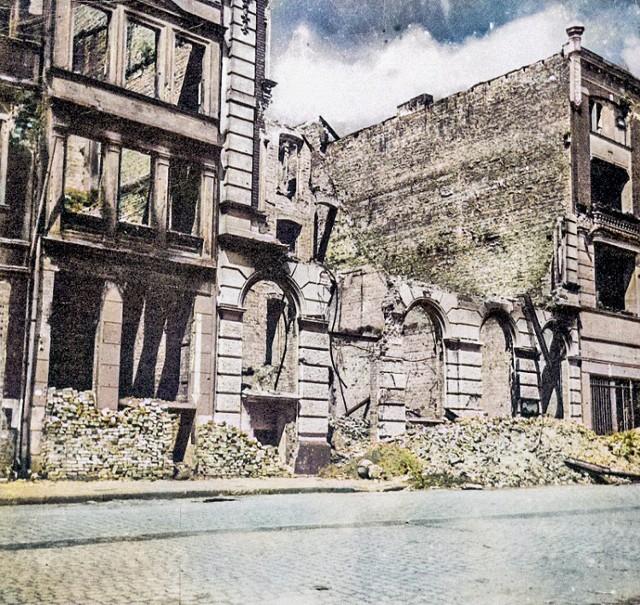 Tak wyglądał Grudziądz po wojnie. Zobacz pokolorowane zdjęcia