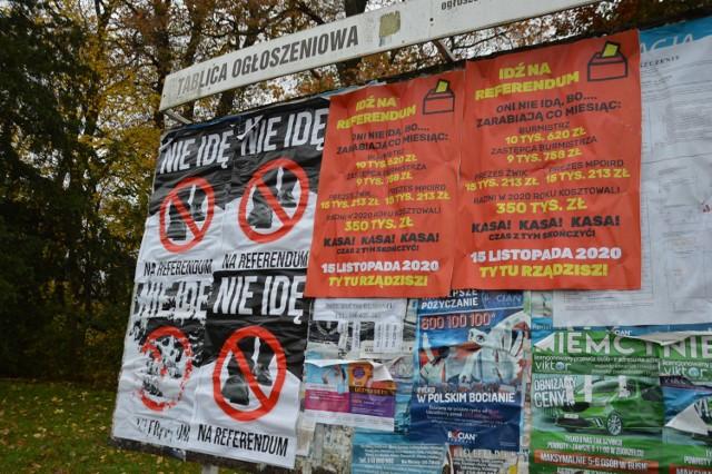 Referendum w Żaganiu zostało zawieszone bezterminowo