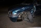 Wypadek w Suwałkach. Zderzyły się dwa samochody [ZDJĘCIA]