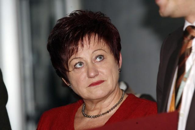 Krystyna Barcik zarobiła w 2009 roku 184 tys. zł