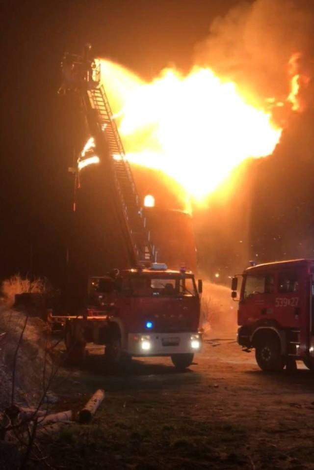 Straty w wyniku pożaru wiatraka w Nowem wynoszą około milion złotych