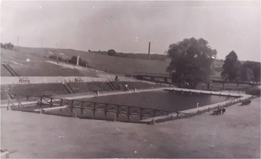 Unikatowe zdjęcie krośnieńskiego basenu pochodzące z 1959 r.
