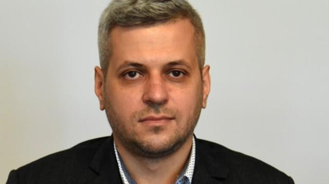 Dyrektor Centrum Opieki Medycznej w Jarosławiu Piotr Pochopień