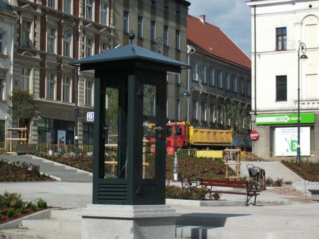 Pogodynka na placu Magistrackim w Wałbrzychu