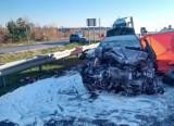 Groźny wypadek pod Warszawą. Zginął mężczyzna