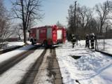 Lipnica Dolna: Strażacy gasili pożar szopy z drewnem