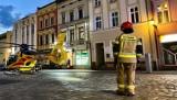 Śmigłowiec LPR lądował na rynku w Kluczborku, żeby ratować dziecko, które poparzyło się wrzątkiem [WIDEO]