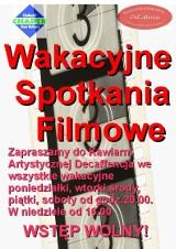 Chełm: Wakacyjne spotkania z filmem w DeCaffencji