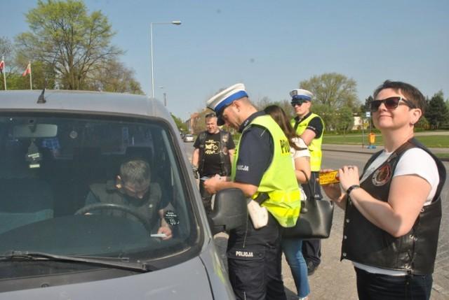 Wspólna akcja leszczyńskiej policji i motocyklistów