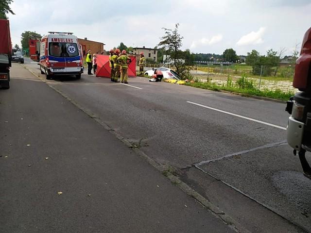 Poważny wypadek w Knurowie