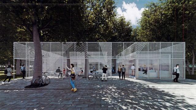 zwycięska koncepcja autorstwa Projektowni Bohdan Bay, Lidia Trzebiatowska