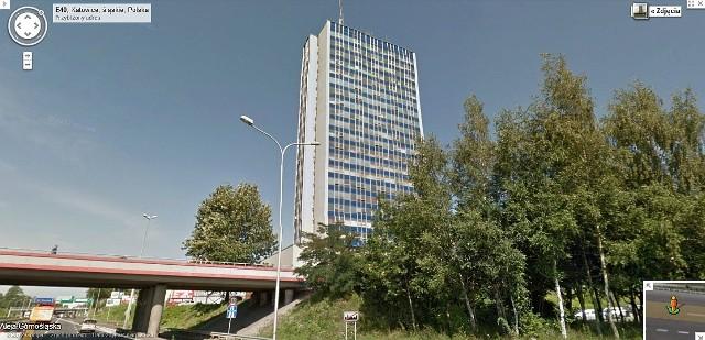 Na razie w usłudze Google dostępne są zdjęcia Katowic widzianych z autostrady A4, którą pojazdy Google mknęły z Wrocławia, by sfotografować... Kraków.